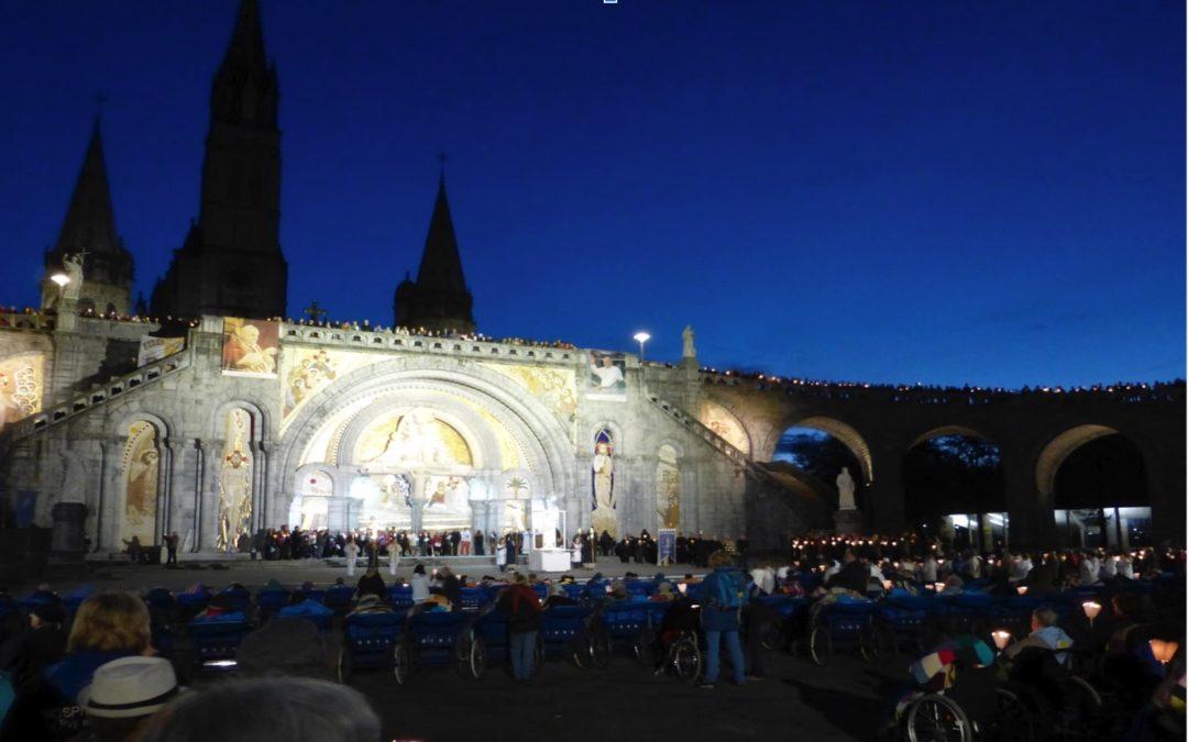 Pèlerinage diocésain à Lourdes….